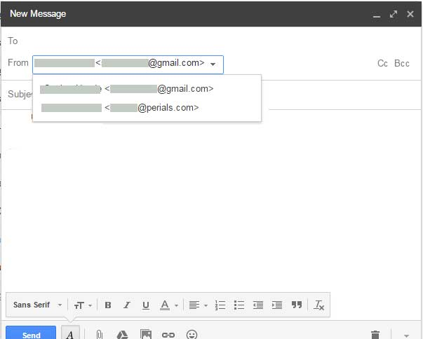 Gmail Compose Mail after configuration